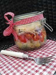 cuisine en bocaux recette de salade en bocaux salade verte pomme de terre tomate