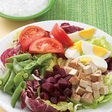 composed salad with pickled beets u0026 smoked tofu recipe eatingwell