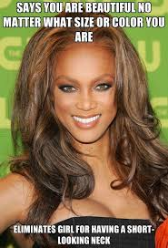 Tyra Banks Meme - hypocrite tyra banks funny pictures funny photos funny