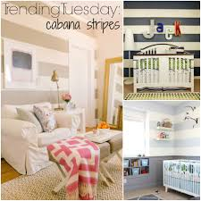 trending tuesday cabana stripes paint horizontal wall