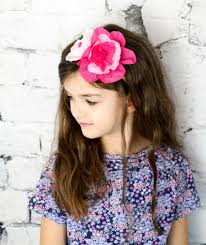 flower hairband delicate crepe paper flower headband crepe paper crafts flowers