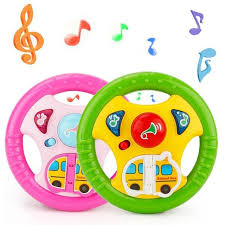baby toys with lights and sound baby toy kids children music sound flashing steering wheel toys