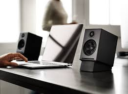 amazon com audioengine a2 black pr 2 way powered speaker