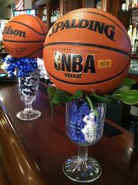 basketball centerpieces by coleen easy basketball centerpiece