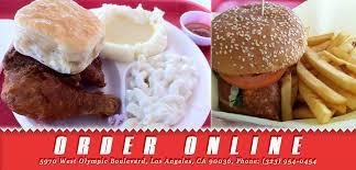 pioneer chicken pioneer chicken order online los angeles ca 90036 american