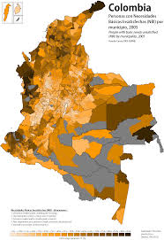 Map Of Colombia Colombian Election And Demographic Maps