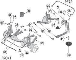1998 jeep grand rear end jeep grand wj suspension parts 99 04 quadratec