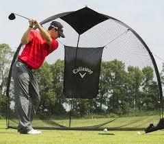 Golf Driving Nets Backyard by Callaway Tri Ball Hitting Net Review U2022 Golf Ttraining Tips