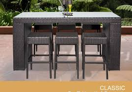 Rectangular Patio Furniture Covers Bar Copper Coffee Table Side Table With Umbrella Hole