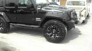 black jeep black rims 877 544 8473 20 inch fuel d576 black milled rims jeep wrangler