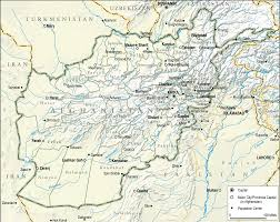Kabul Map Afghanistan Topographical Map U2022 Mapsof Net
