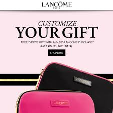boston store bridal registry bostonstore customize your free lancôme 7 pc gift w a 35