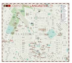 map of lancaster pa detailed city way finder map of lancaster pa with building