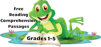 free reading comprehension passages reading comprehension