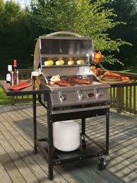island charcoal grill outdoor kitchen charcoal vs gas outdoor