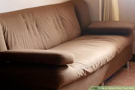 Which Leather Is Best For Sofa How To Spray Paint Your Sofa 14 Steps With Pictures Wikihow