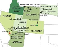 grand national park map 39 best states national park rv road trip images on