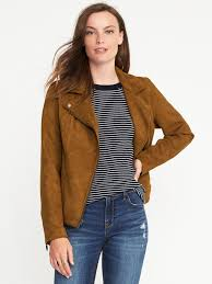 moto jacket sueded knit moto jacket for women old navy