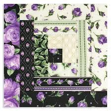 purple lilac log cabin quilt kits u2013 jordan fabrics