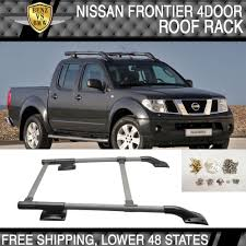 fit for 05 14 nissan frontier 4door 4dr oe roof racks side rails