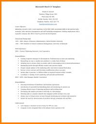 word resume templates resume template for microsoft word resume templates microsoft word