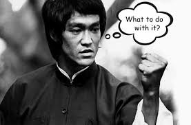 Bruce Lee Meme - mute meme 2 more images thought bubbled by stefan stenudd
