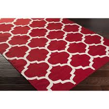 Red Black White Area Rugs Red And White Area Rug Roselawnlutheran