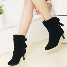 ebay womens winter boots size 9 sears brand amadora black suede s quality shoes boots size 9
