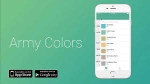 color themes for android army colors warhammer and miniatures paining app iphone app