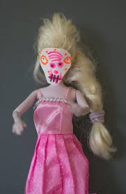 spooky halloween dress up masks for dolls