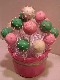photo baby shower cake pops image