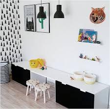 chambre stuva ikea aménagement stuva ikea noir et blanc déco chambre d enfant alixe