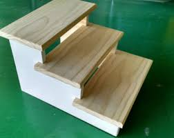 doggie steps for bed pet steps etsy
