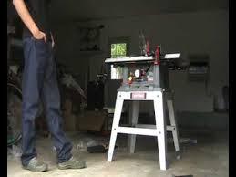Delta Shopmaster Table Saw Craftsman Table Saw Setup Youtube
