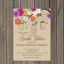 jar bridal shower invitations jar shower invitation jar bridal shower invitation in