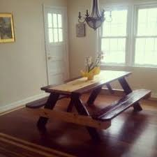 Picnic Dining Room Table Picnic Style Dining Table Dining Room Table Pinterest Dining