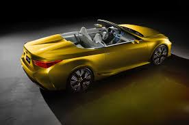 new lexus sports car concept lexus lf c2 concept hits l a likely previews rc convertible