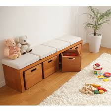 Cushioned Storage Bench Ffws Rakuten Global Market Storage Bench Lowboard Chest