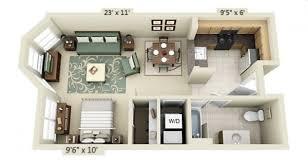 modern studio plans studio apartment floor plans