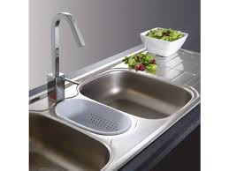 Franke Cascade Triple Sink Strainer Wastes And Colander - Triple sink kitchen