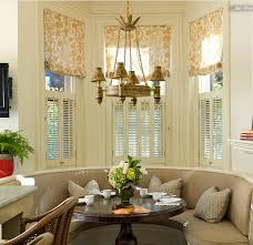 window treatment idea roman shades in a bay window u2013 simple