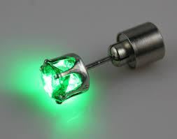 led earrings led glowing earrings curiosity boutique