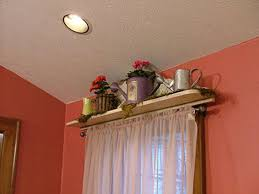 Homemade Curtains Without Sewing Homemade Valance For Spring Hgtv