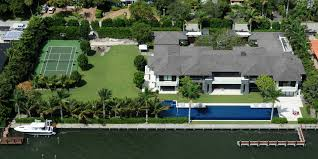 villa allegra private house miami beach celebrity homes enrique