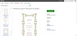 word template for wedding program make wedding planning easier using microsoft office