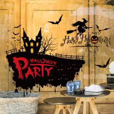 party city halloween window clings online get cheap castle window decal aliexpress com alibaba group