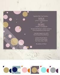 polka dots invitations new polka dot wedding invitations and polka dots wedding