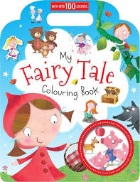 buy fairy tale colouring book written na price
