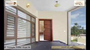 Home Interior Design Kottayam by Lifespace Premium Villas Kottayam Kcc Homes Youtube