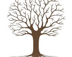 free printable fingerprint tree template